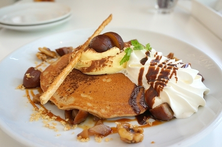 Butter淀屋橋 秋のチョコレートパンケーキ