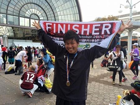大阪マラソン完走