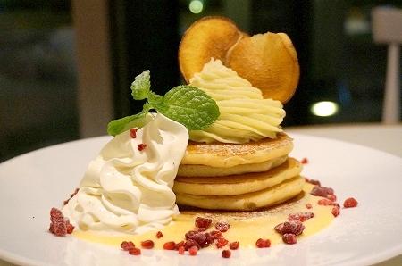 スーホルムカフェ期間限定パンケーキ