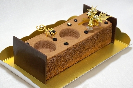 ルシェルシェ クリスマスチョコレートケーキ