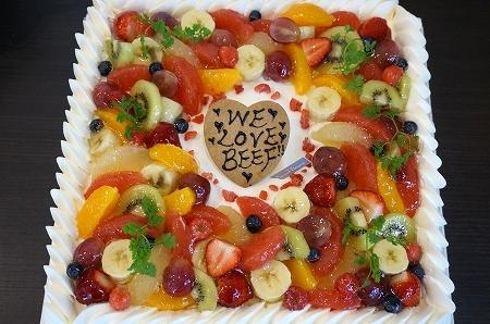 パティスリーグランフルーヴ クリスマスケーキ