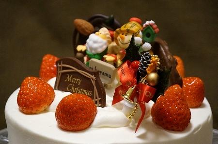 エスコヤマクリスマスケーキ「生クリームデコレーション」