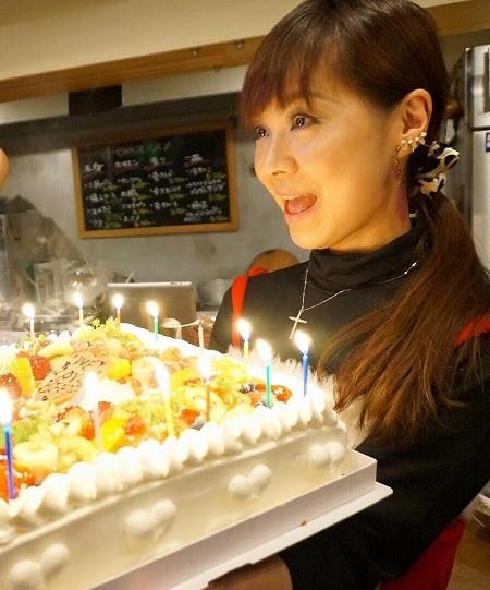 kけいちゃんハッピーバースデーケーキ