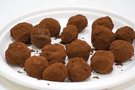 カファレル トリュフチョコレート作り教室