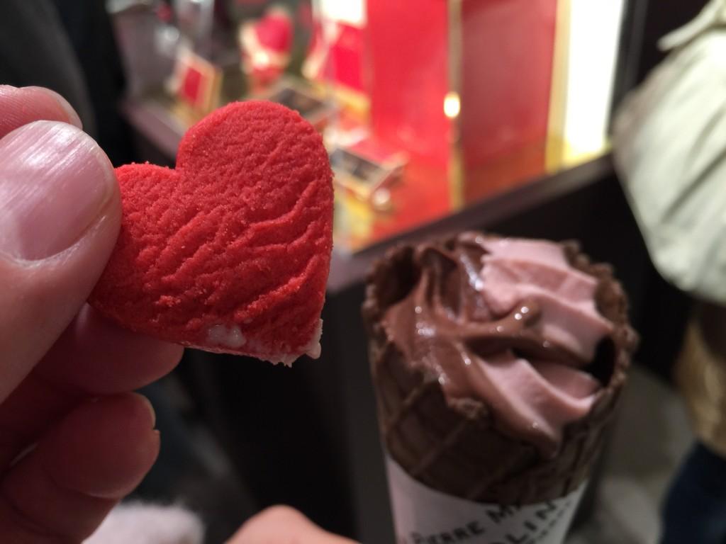ピエールマルコリーニ いちごソフトクリーム