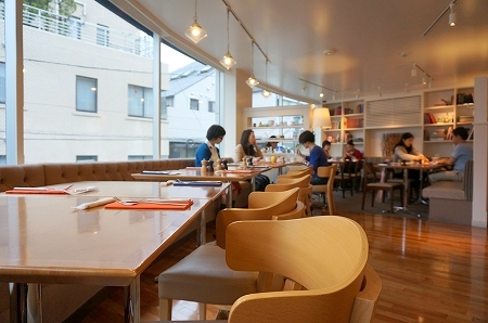 代官山サラベス モーニング カフェ