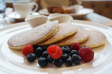 代官山サラベス モーニングパンケーキ