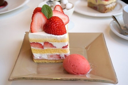 エスコヤマ 苺づくしのショートケーキ