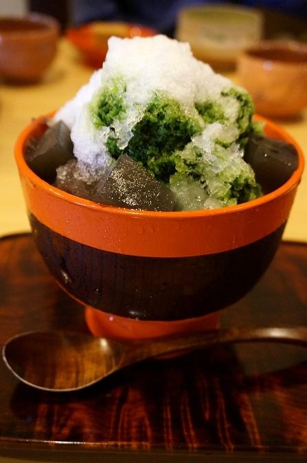 奈良 樫舎 かき氷