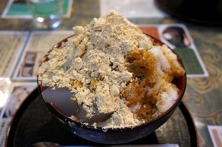 奈良県 東大寺 鹿鳴園 かき氷