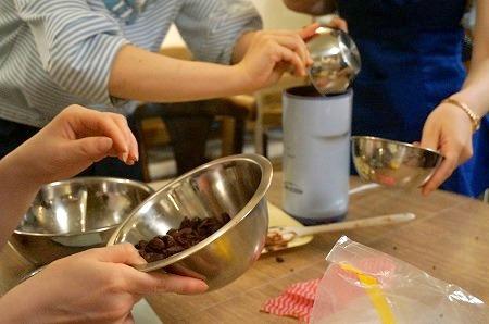 手作りチョコレートイベント