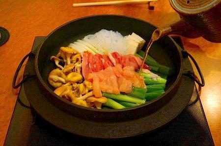 徳川別邸 美味しい 鶏すき 玉子プリン