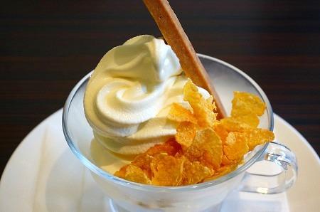 十三 ハンブルグ ソフトクリーム