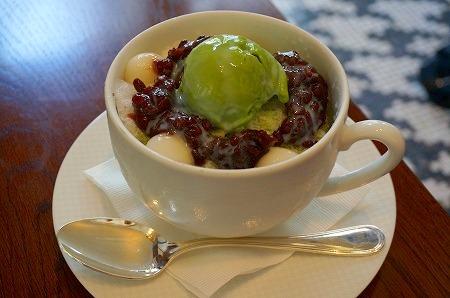 セントレジス大阪 かき氷 シェイブアイス 抹茶