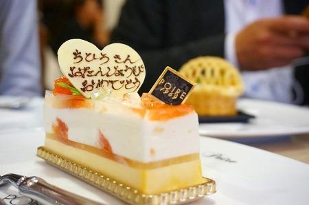 ポアール バースデーケーキ