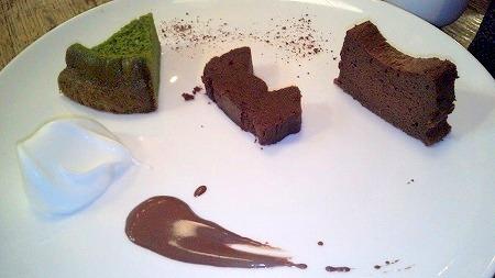 チョコレート研究所ガトーショコラセット