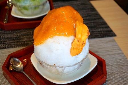 奈良 かき氷 平宗 法隆寺 柿氷