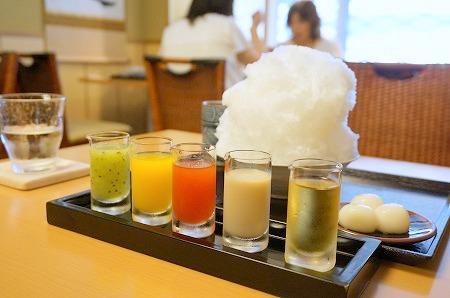 京都かき氷ツアー ニ條若狭屋