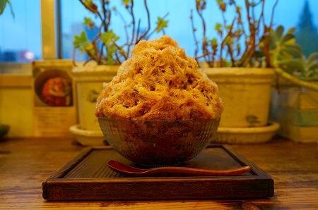 本町 かき氷 コクウカフェ 紅茶かき氷