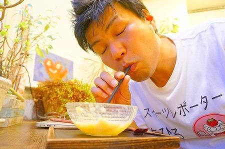 本町 かき氷 コクウカフェ ミックスジュースかき氷