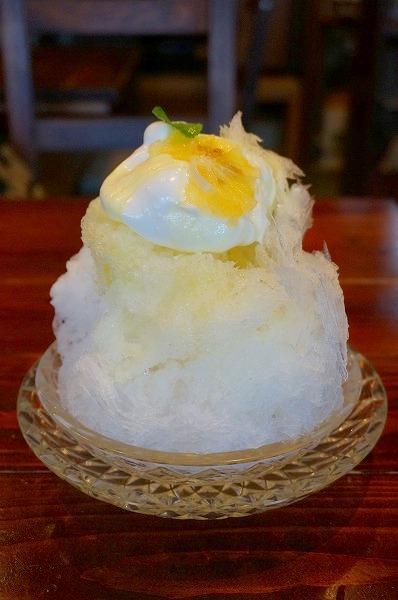 大阪府池田市 スパロウハウス かき氷