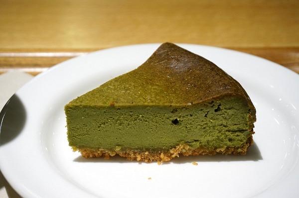 グランフロント大阪 無印良品カフェ 抹茶NYチーズケーキ