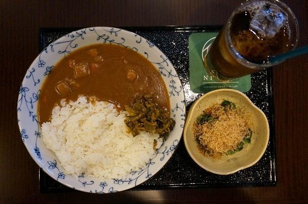 天満橋 仁倉総本店 和菓子屋さんのカレー