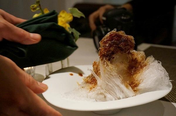 リストランテヒロ大阪 ティラミスかき氷