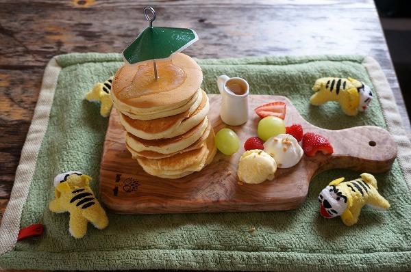 大阪 貸し切りカフェ ホテルペンネンネネム タイガーパンケーキ