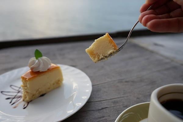 滋賀県 琵琶湖 カフェ Chalet水ケ浜 チーズケーキ