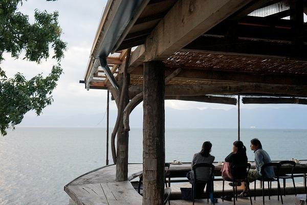 滋賀県 琵琶湖 カフェ Chalet水ケ浜