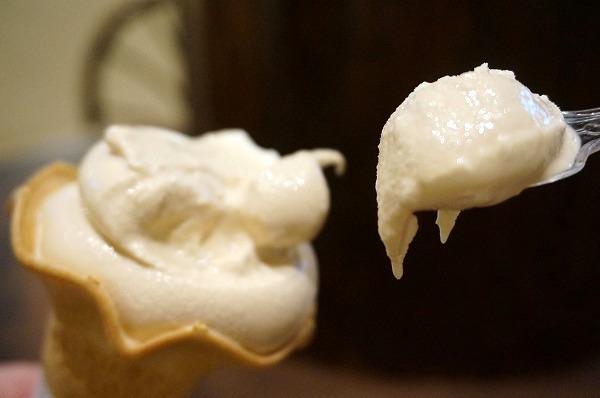 まほろば大仏プリン本舗本店 プリンの森限定プリンソフトクリーム