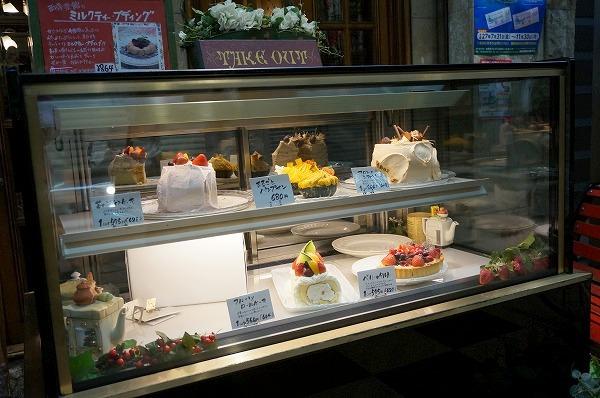 天満 英国カフェ 西洋茶館 ケーキ