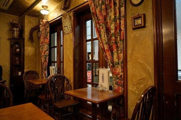 天満 英国カフェ 西洋茶館 スイーツ