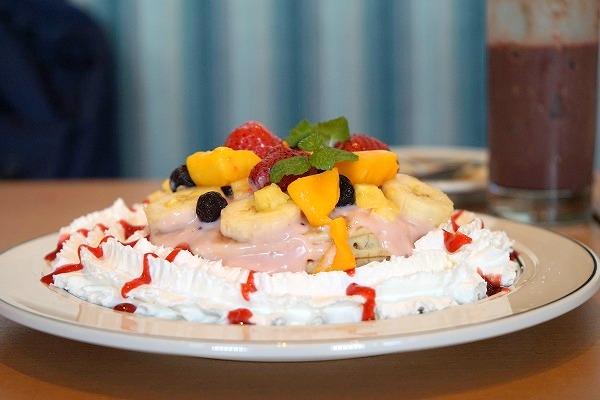 エッグスンシングスららぽーとエキスポシティ店限定 太陽のパンケーキ