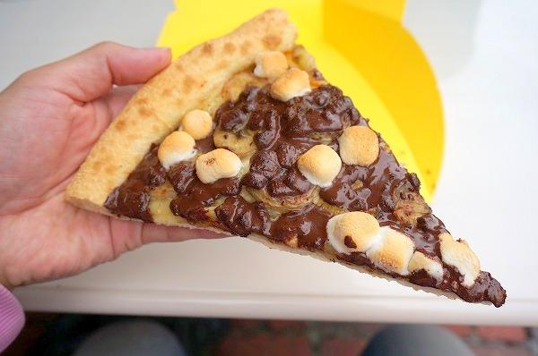 USJ ミニオンピッツア チョコレートバナナ