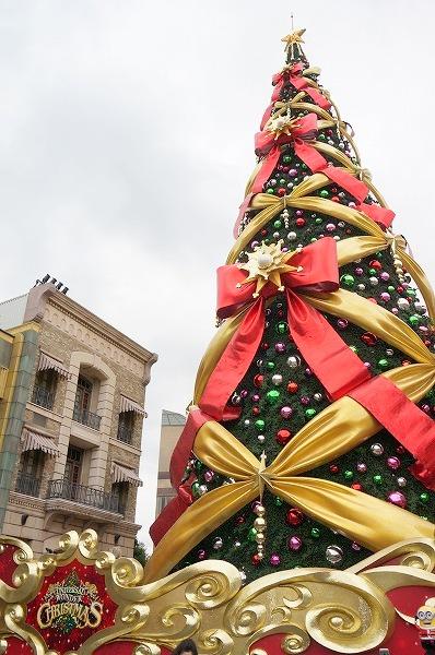 USJ ユニバーサルスタジオジャパン クリスマスツリー