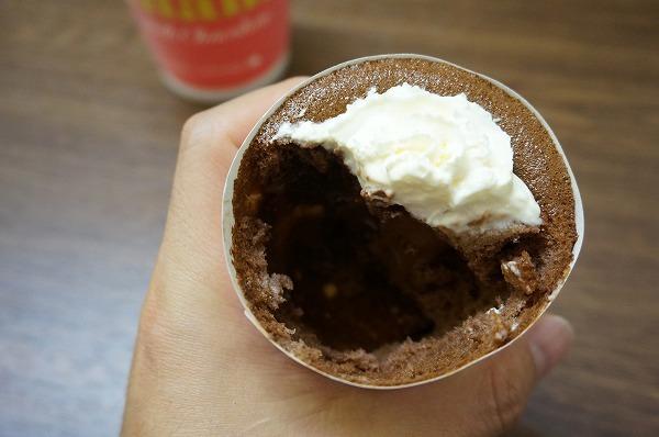 ロッテリア ガーナチョコレートフェア ガーナミルクチョコレート カップシフォンケーキ