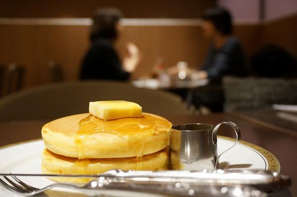ルクアイーレ 丸福珈琲店 ホットケーキ