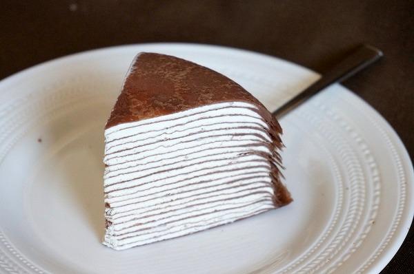 エルカフェ ショコラミルクレープ