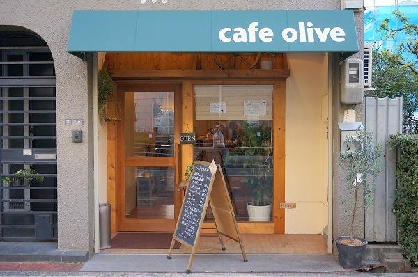 長居 カフェ cafe olive