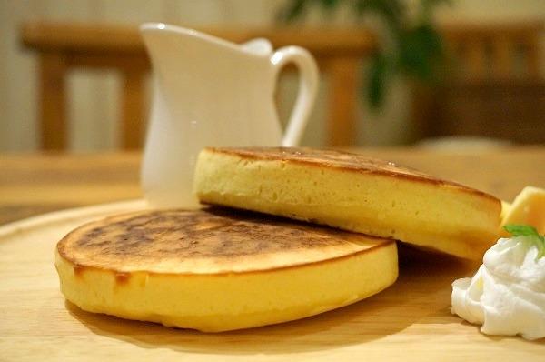長居 カフェ cafe olive ホットケーキ
