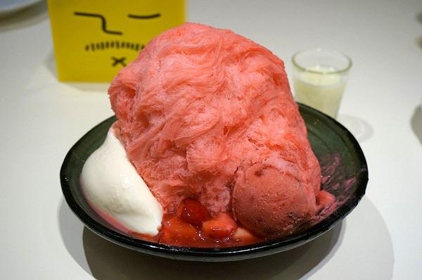 アイスモンスター 大阪梅田 イチゴかき氷