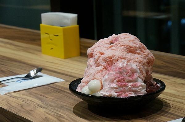 アイスモンスター グランフロント大阪 桜ミルクかき氷