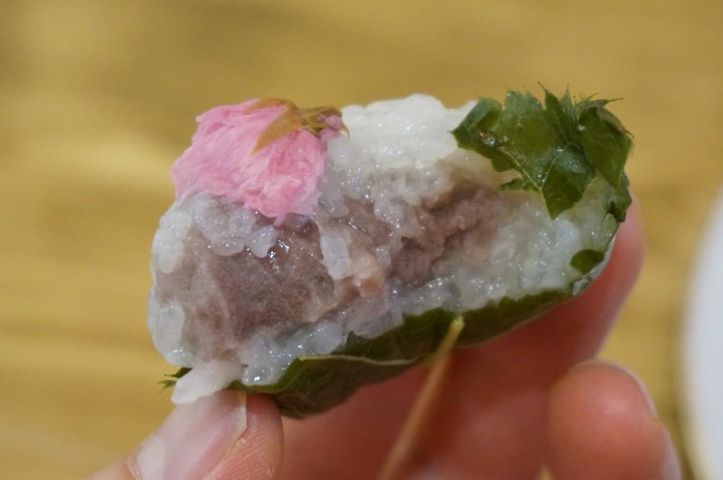 西区新町 餅師しづく 桜餅