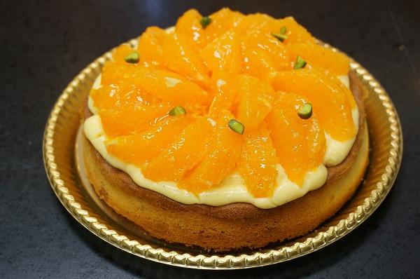 エスコヤマ お菓子教室 清見オレンジタルト