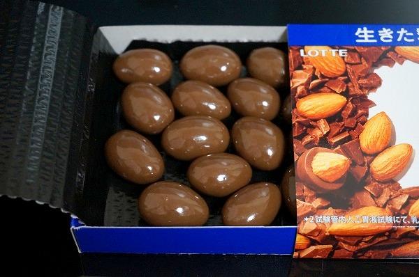 乳酸菌ショコラ(アーモンドチョコレート)