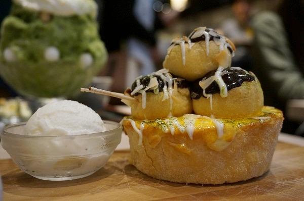 パブロ道頓堀店 たこやきチーズタルト