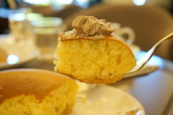 青山ウエストガーデン モーニングパンケーキ(ホットケーキ)