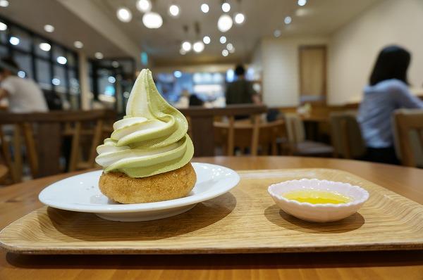 有機茶寮 ドーナツソフトクリーム